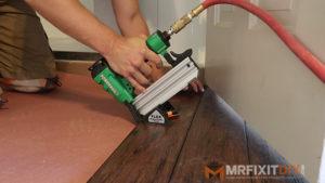 Installing Hardwood Floors With Regular Nail Gun