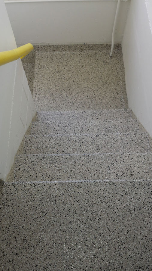 Epoxy Flooring For Stairs