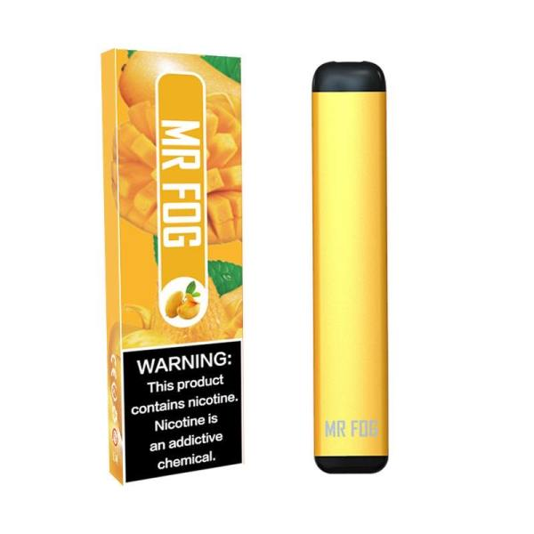MR FOG DISPOSABLE POD DEVICE 1.5ML POD DEVICE 6% MANGO