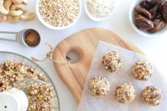 Food for Kids Cashew Balls