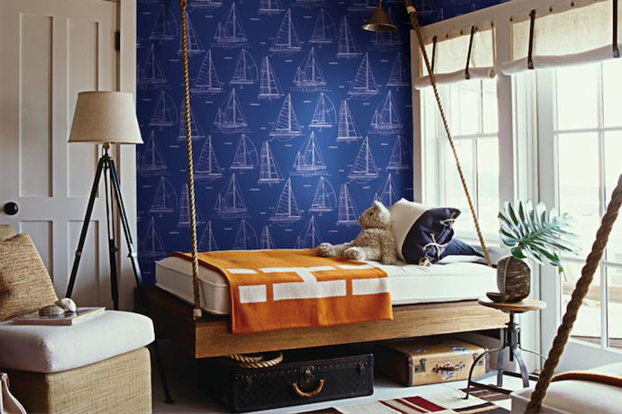 Boys rooms nautical themed mr fox for Nautical themed room