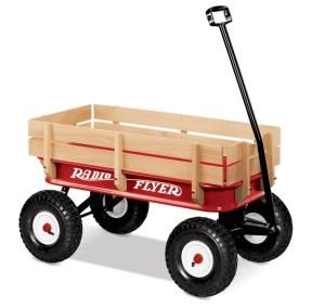 Big Red Radio Flyer wagon