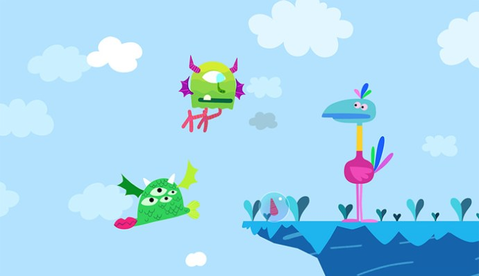 Monster Mingle App by Cowly Owl
