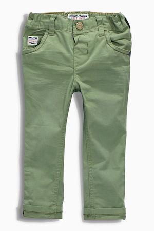 Next Boys Green 5 Pocket Trousers