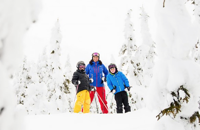 Trysil Norway Family Off Piste Skiing