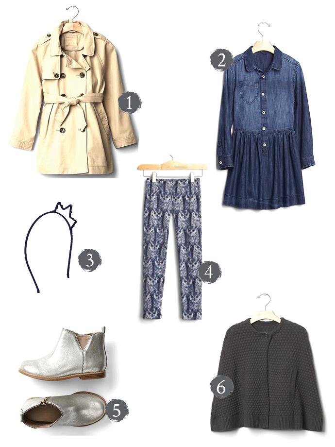 Gap Girls Autumn Collection