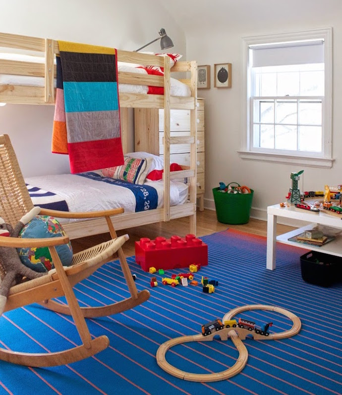 Transport Themed Kids' Room