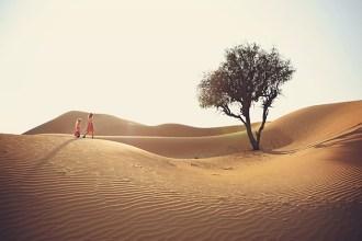 Kirsty Larmour Abu Dhabi desert