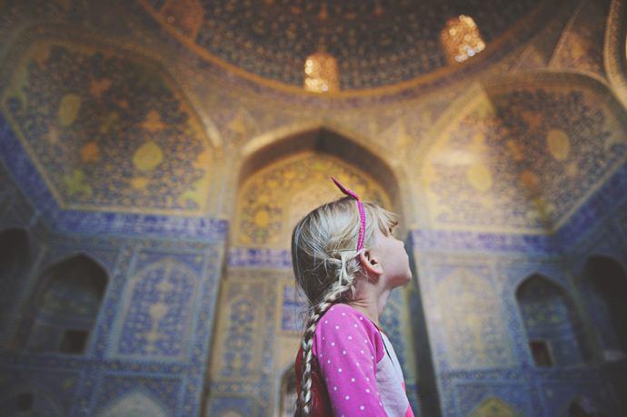 Kirsty Larmour shah mosque isfahan iran2