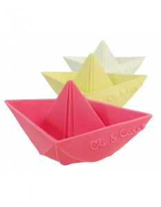 Gifts for 2 year olds Origami Latex Boats
