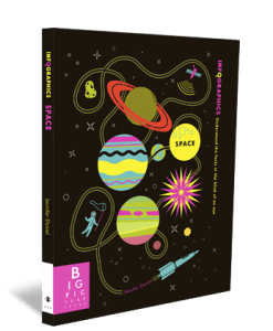 Gifts for 7 Year Olds Space Infographic Book