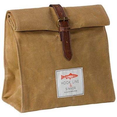 Hook Line and Sinker Lunch Bag Handpciked