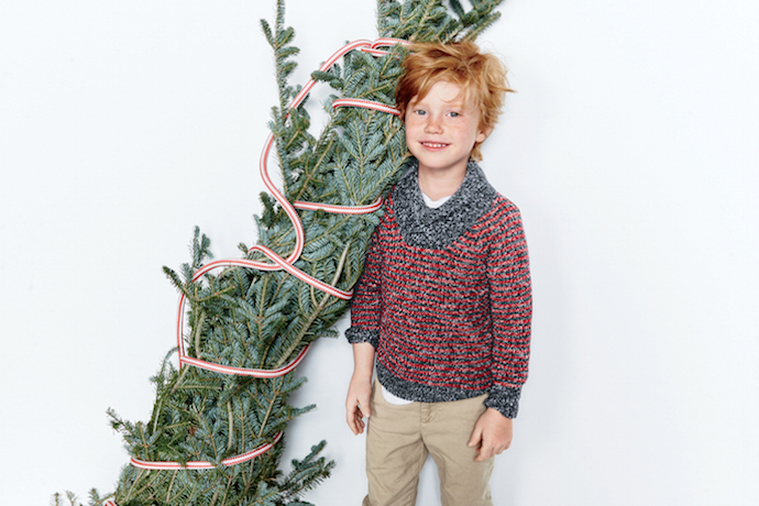 Marled Shawl-Neck Sweater from J Crew on Mr Fox