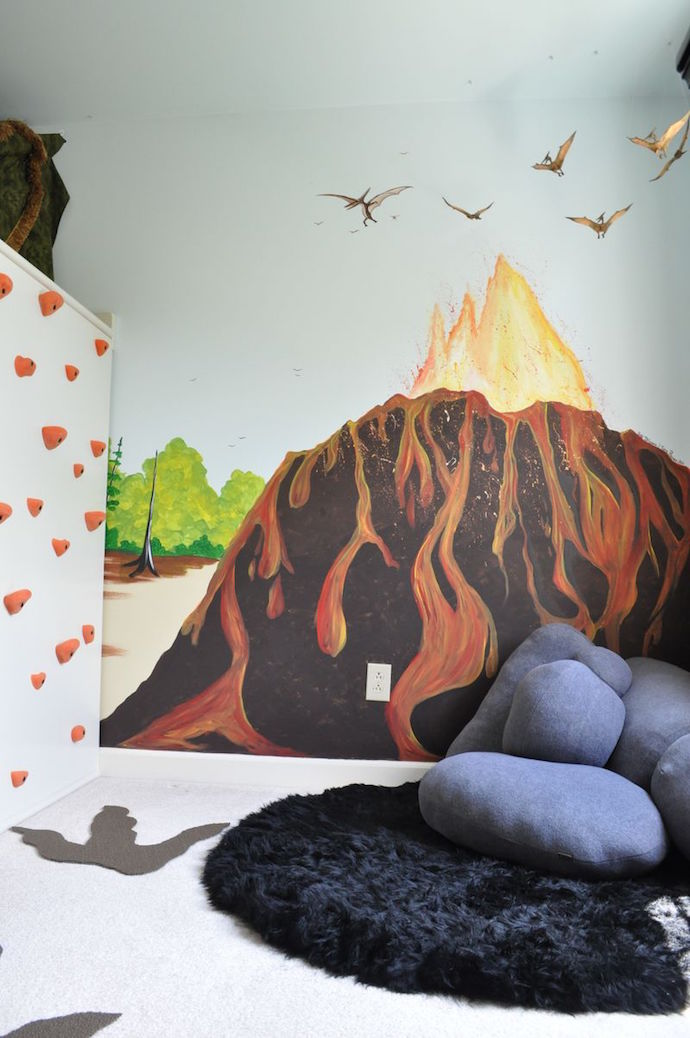 Carter Blog dinosaur themed kids room