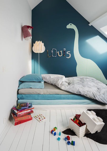 Louis Le Sec dinosaur bedding