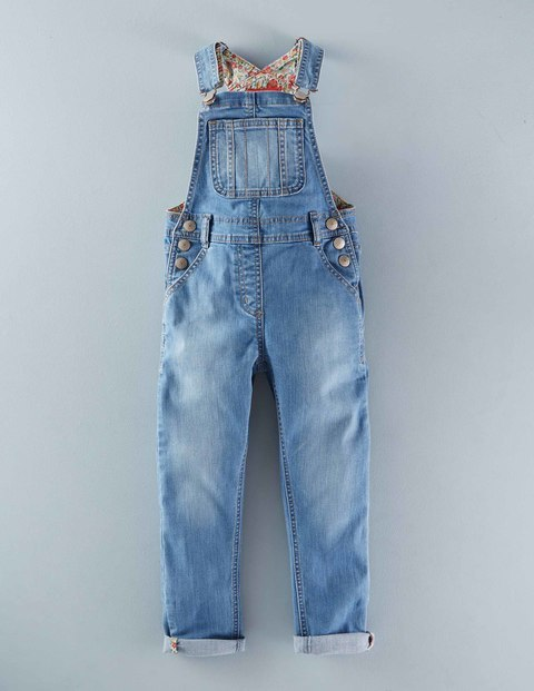 Mini Boden Girls Dungarees