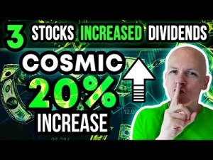 This Stock Just Announced A Cosmic 20% Dividend Increase