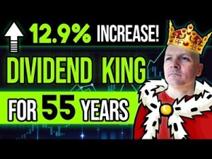 Another Whopping 12.9%?! This Dividend King Has Been Raising Its Dividend For 55 Consecutive Years