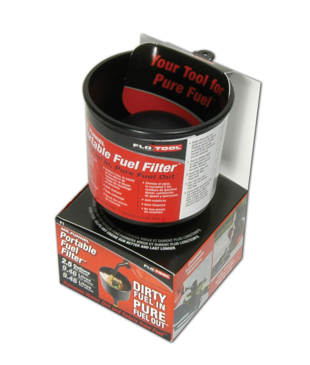 hight resolution of mr funnel f1 c small conductive fuel filter funnel
