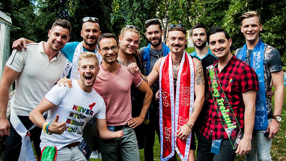My Mr Gay Europe Journey