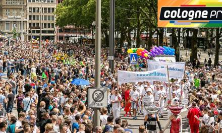 Mr Gay Europe goes to Cologne Pride