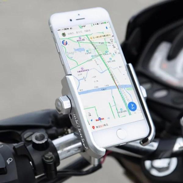 support moto smartphone chargeur guidon bmw honda suzuki velo trottinette iphone samsung