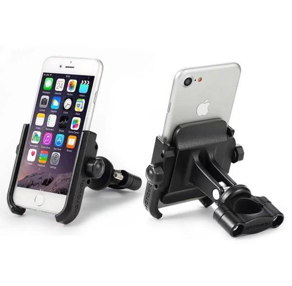 support-moto-smartphone-alluminium-guidon-retroviseur-piste-bmw-gs-1250-1200-antivol