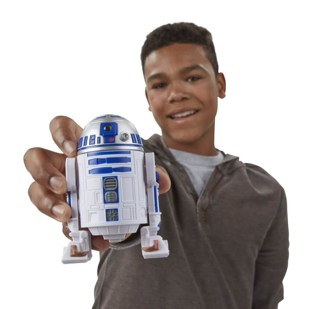 Teen with R2D2 Bop It