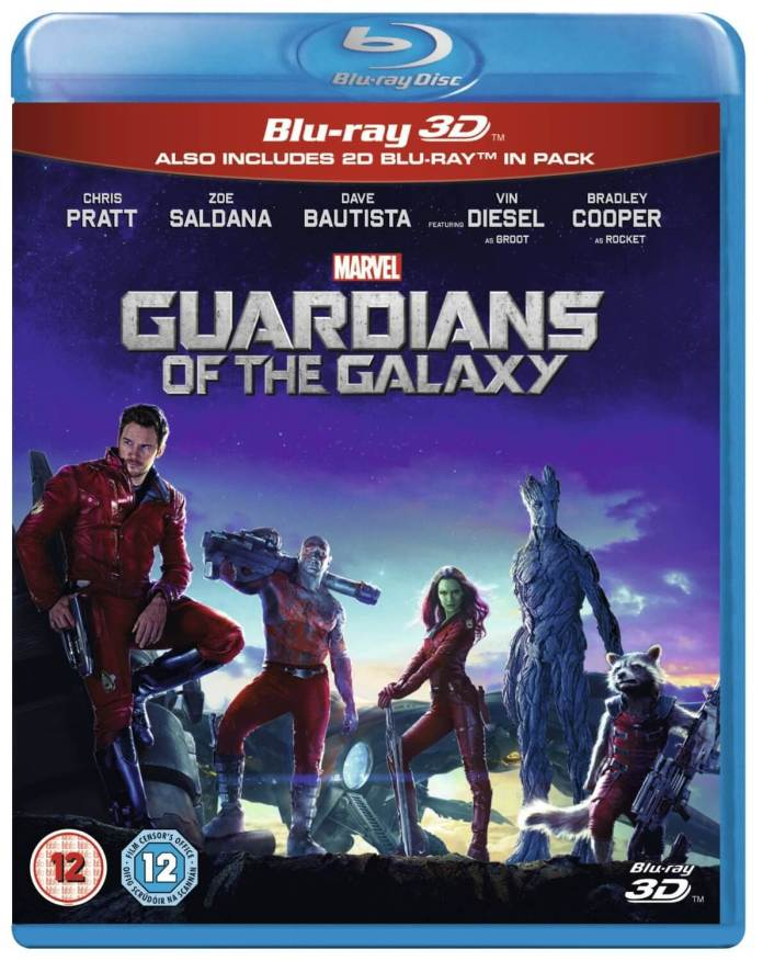 Guardians Of The Galaxy [Blu-ray 3D + Blu-ray] | The Top Six Movies In My Film Collection