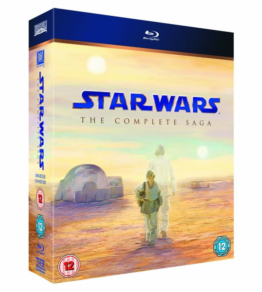 Star Wars The Complete Saga [Blu-ray] | The Top Six Movies In My Film Collection