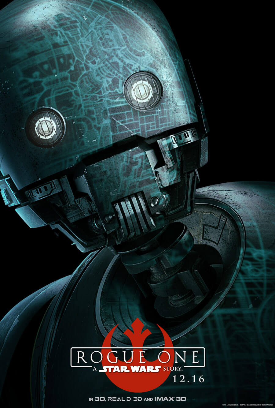 k-2SO - Rogue One A Star Wars Story