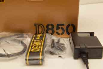 The Nikon D850 Unboxing and Review - Box Contents 2