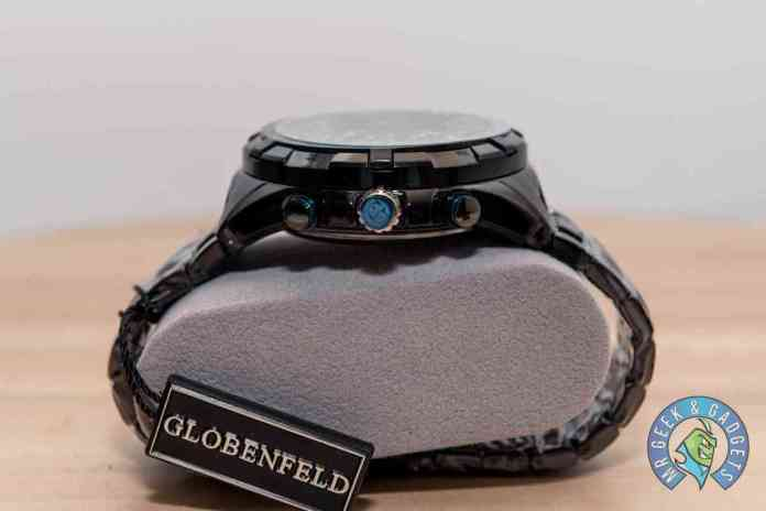 Globenfeld Super Sports Watch Side View