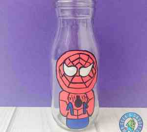 IMG_2904 | | Avengers Spiderman Bottle Art