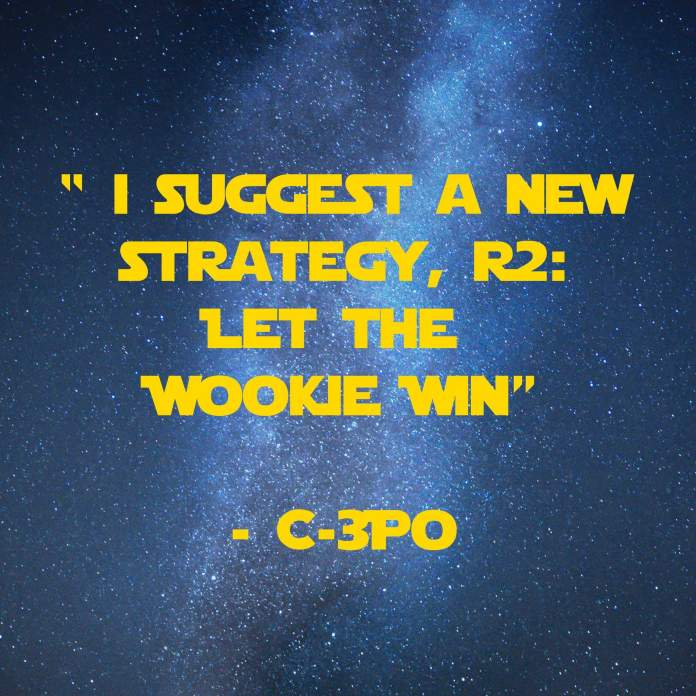 I Suggest a new Strategy | 31 Memorable Star Wars Quotes for Geeks