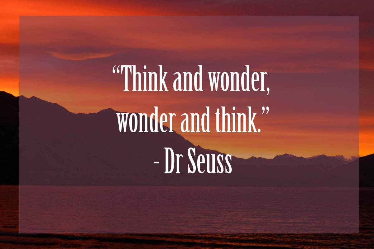 Think-and-wonder-wonder-and-think | Dr Seuss Quotes Which Will Inspire You
