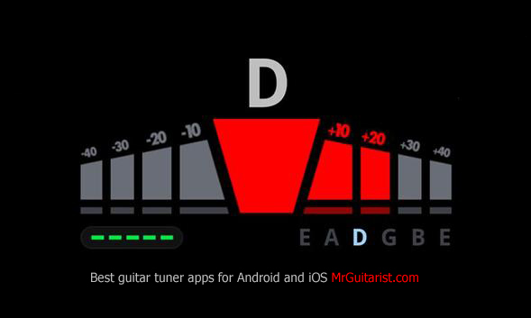 best rated guitar tuner app for android