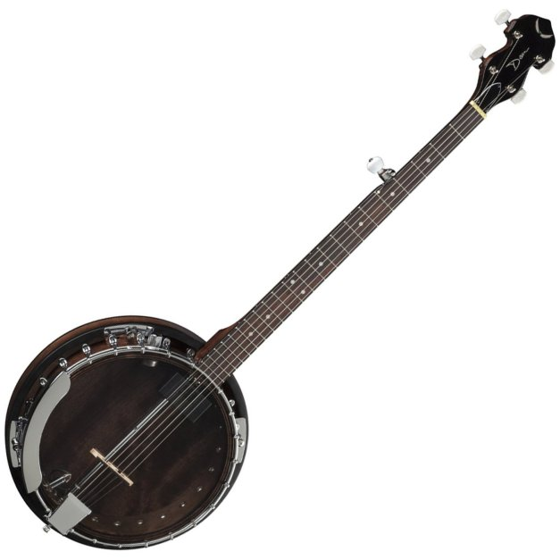 BW2E Backwoods Electric Banjo by Dean Guitars