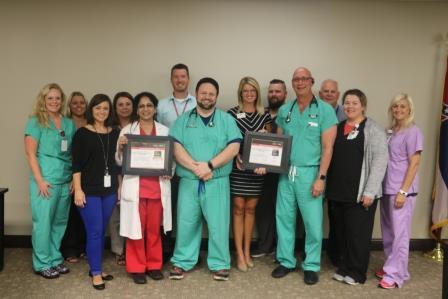 Team with Lifeline Award