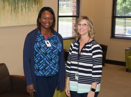 Dr. Delali Blavo, Endocrinologist, and Carmen Parks, Certified Diabetic Educator