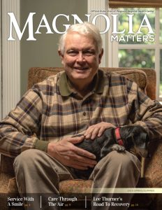 spring-summer 2019 Magnolia Matters cover