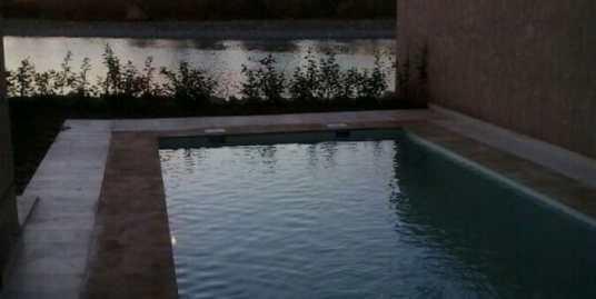 Belle demeure dans une résidence haut standing à marrakech