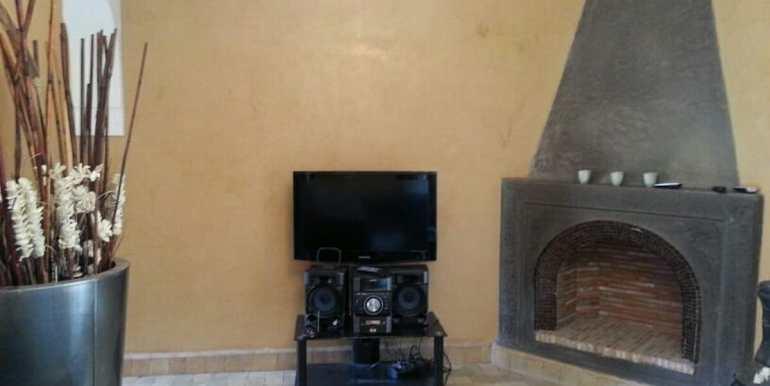 location de villa meublé standing à targa marrakech6