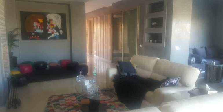 location villa meublée avenue mohamed 6 marrakech (13)