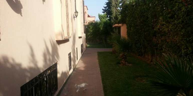 location villa vide longue durée marrakech11