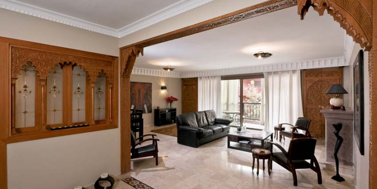 vente appartement haut standing à marrakech gueliz