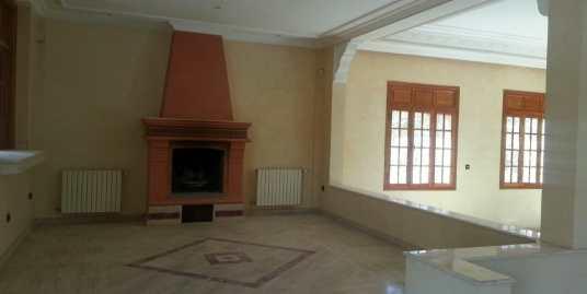 location villa pour longue durée à targa marrakech
