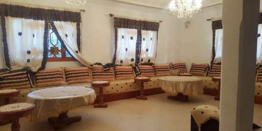 villa à louer meublé pour longue durée à marrakech