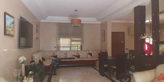 Villa à louer vide sur la route de casa à Marrakech