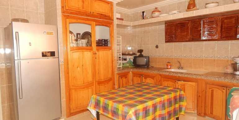 Villa non meublée à louer route de casa marrakech1